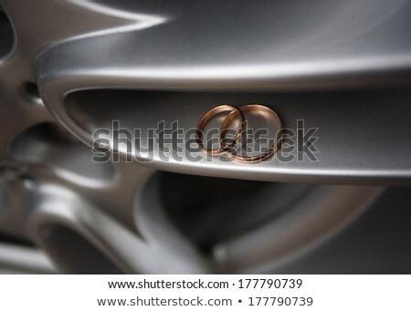 невеста · автомобиль · автомобилей · свадьба · лице · моде - Сток-фото © carenas1