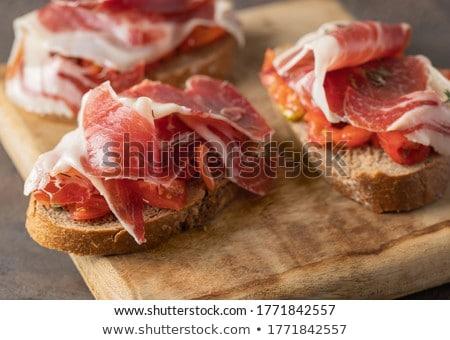 prosciutto ham stock photo © M-studio