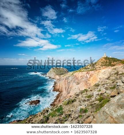 Deniz feneri ada güney batı plaj su Stok fotoğraf © Antonio-S
