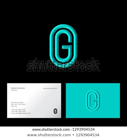 abstract · symbool · ovaal · icon · ontwerp - stockfoto © cidepix