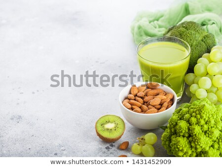 Fresco orgânico verde fruto legumes Foto stock © DenisMArt