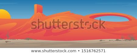 schoonheid · oase · woestijn · landschap · natuur · achtergrond - stockfoto © jeff_hobrath