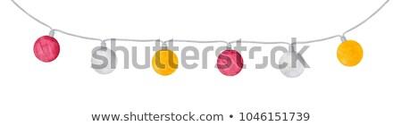 Strony kula ciąg ilustracja ręce Zdjęcia stock © lenm