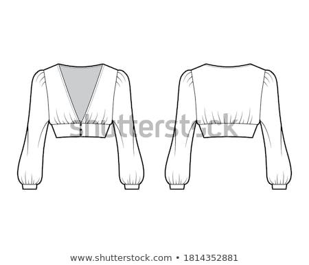 suknia · ślubna · rękaw · nie · do · poznania · krawiec · nadgarstek - zdjęcia stock © pressmaster