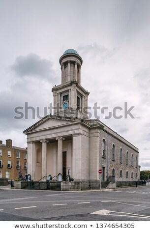 Templom Dublin Írország szent bors hivatalos Stock fotó © borisb17