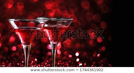 martini glasses stock photo © hitdelight
