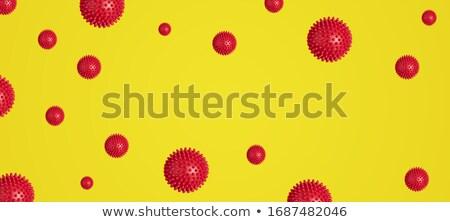 коронавирус текста красный Top мнение Сток-фото © Illia