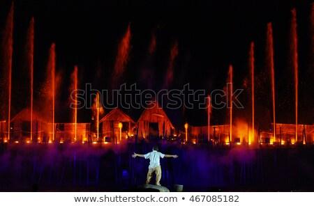 Laser show in Singapore Stock photo © bloodua