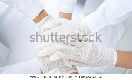Virus Fight Together Stock photo © Lightsource