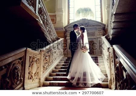 Esküvő pár bent ölel egyéb gyönyörű Stock fotó © ruslanshramko