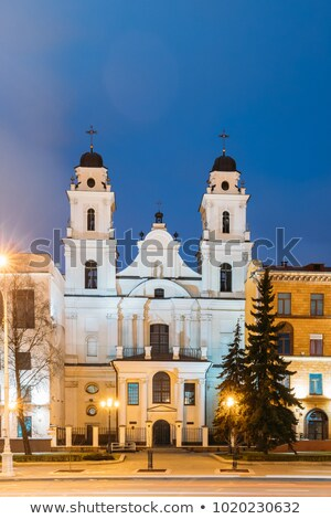 Cathedral of Saint Virgin Mary, Minsk, Belarus Stock photo © borisb17