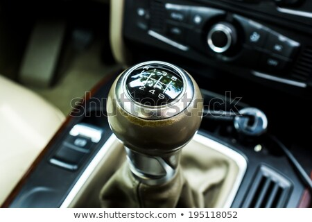 Chromed Shiny Gear Shift Stock photo © Alvinge