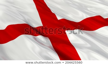 Inglês bandeira vento ilustração atravessar Foto stock © latent