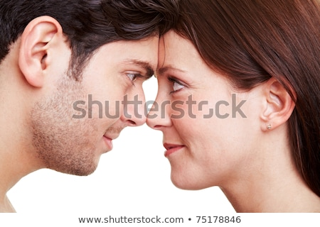 Couple with noses together Stock photo © photography33