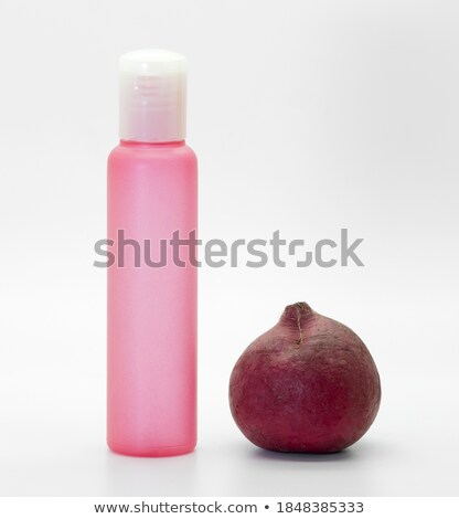 cosmetic bottles and veggies stock photo © fisher