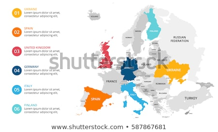 Map of Europe stock photo © Alvinge