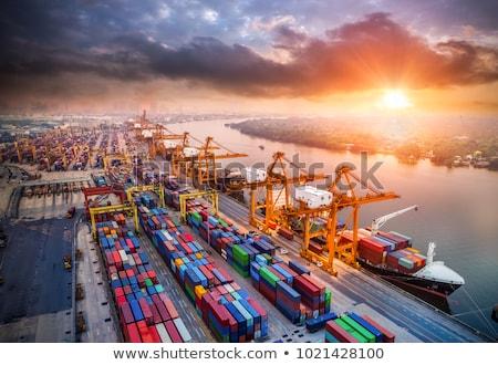 Industrial Harbour Stock photo © Alvinge