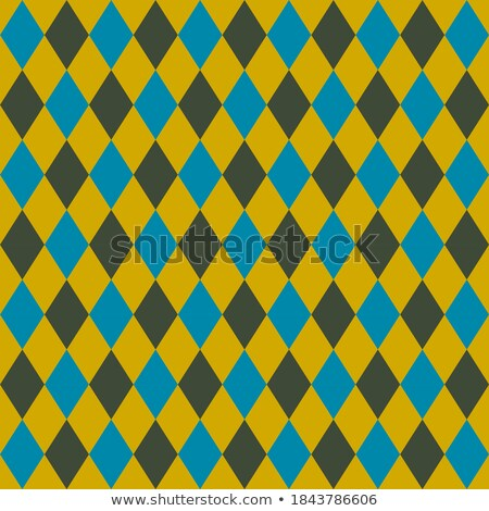 retro colorful argile pattern or background   blue and green stock photo © lordalea