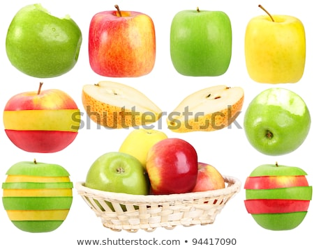 Abstract set of fresh strange fruits Stock photo © boroda