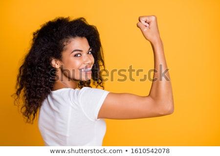 魅力的な 女性 まゆ ドレス 岩 ホット ストックフォト © marylooo