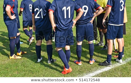 Fútbol equipo zapatos bandera colores Europa Foto stock © sahua