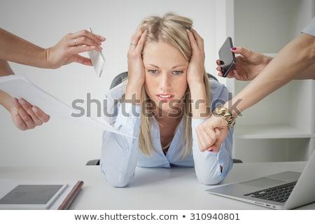 Secretary overwhelmed Stock photo © photography33