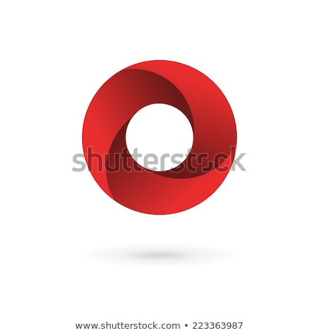 Stock photo: Glossy Icons for letter O