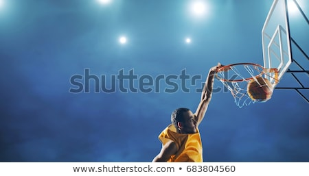 Basketball Slam Dunk Stock photo © ArenaCreative