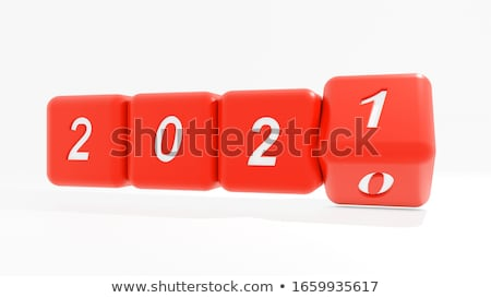 new word on red box dice  stock photo © donskarpo