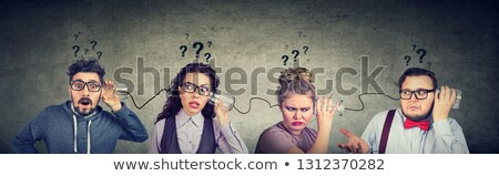 funny English telephone stock photo © pcanzo