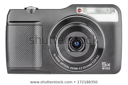 front view of digital photocamera Stock photo © Grazvydas