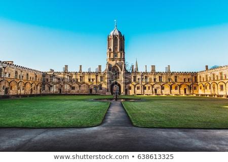 Krisztus torony Oxford egyetem templom épület Stock fotó © julian_fletcher