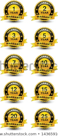 15 year warranty stamps stock photo © thp
