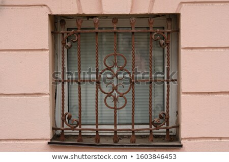 decorative twisted window bars stock photo © thefull360
