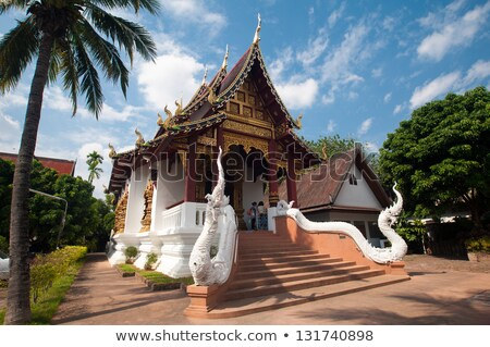 windows in the building of the White Temple in Chiang Mai Stock photo © RuslanOmega