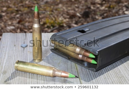 two 556 cartridges and bullets stock photo © eldadcarin