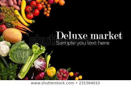 frutas · alimentos · naranja · verde · rojo - foto stock © Filata