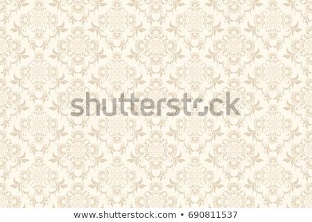 Végtelenített tapéta csempe lótuszvirág terv kék Stock fotó © kittasgraphics