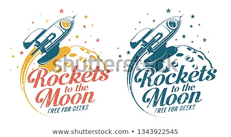 flying rocket stock photo © prill