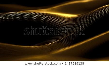 Fényűző szatén arany szépség művészet hullám Stock fotó © REDPIXEL
