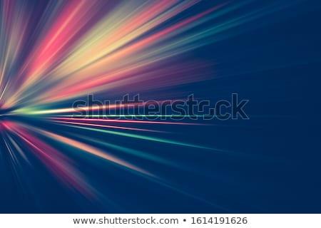 absztrakt · keret · sugarak · spektrum · illusztráció · internet - stock fotó © simas2
