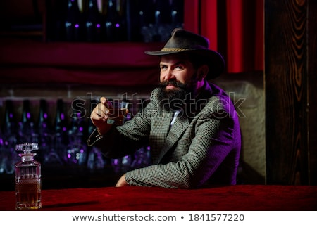 Macho man in a nightclub Stock photo © Discovod