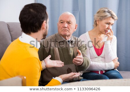 family strife Stock photo © taviphoto