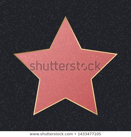 Lege hollywood star kan naam hier Stockfoto © weltreisendertj