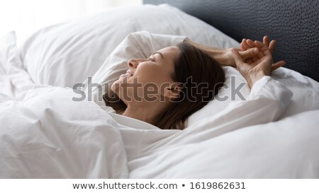 waking up peacefully stock photo © stokkete
