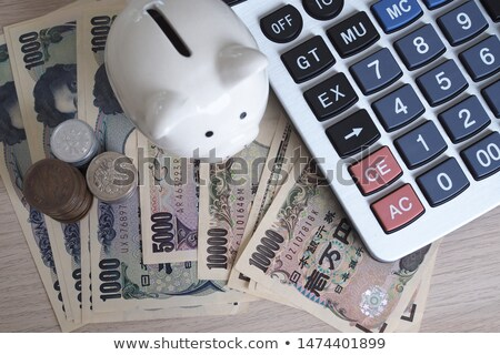 Calculator and Japanese Yen Note Stock photo © rufous