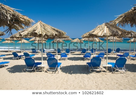 Grecia playa agradable relajarse sol mar Foto stock © jonnysek