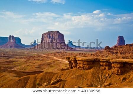 Land · Arizona · Wüste · szenische · Landschaft · rock - stock foto © meinzahn
