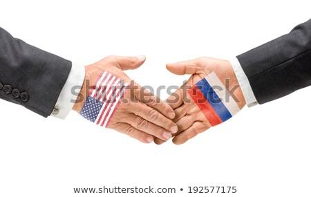 USA · Russia · cooperazione · business - foto d'archivio © zerbor