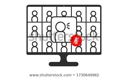 businessman   mute stock photo © dgilder